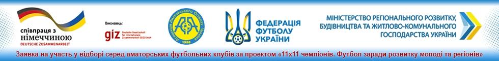 Пропозиція щодо участі в реалізації проекту «11х11 чемпіонів. Футбол заради розвитку молоді та регіонів»