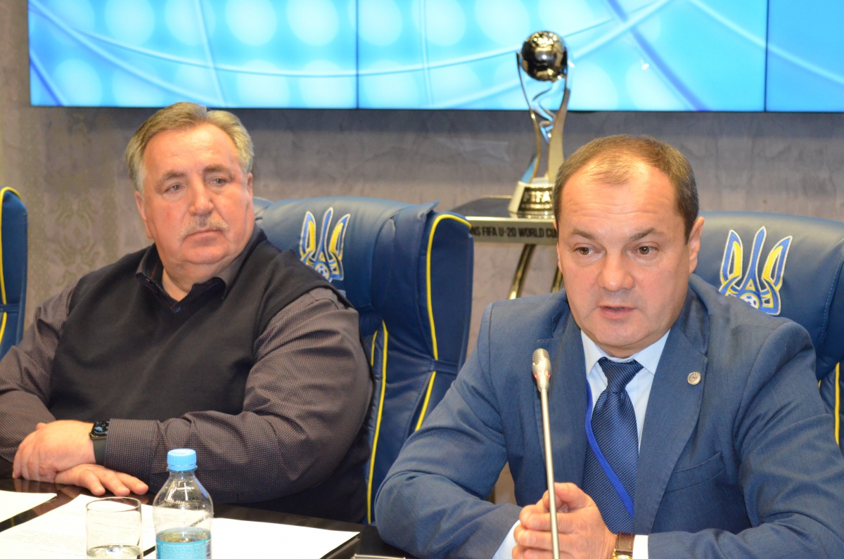 Президент ААФУ Федір Шпиг, перший віце-президент ААФУ Олександр Каденко